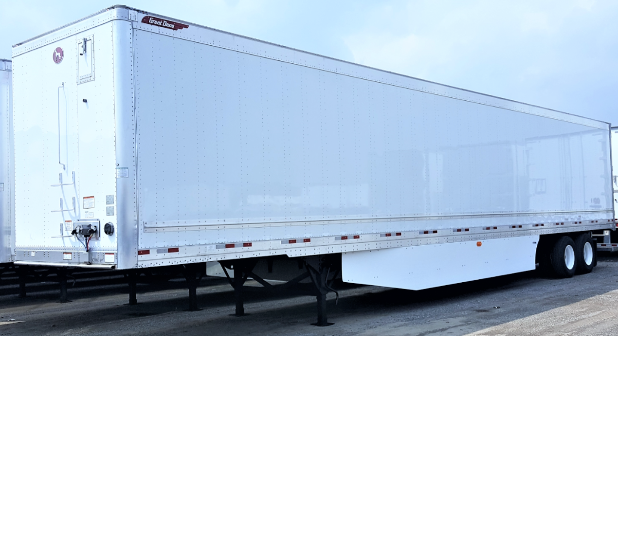 "New Great Dane Champion CS1 Van Trailers with 16"" Logistic Post Centers"