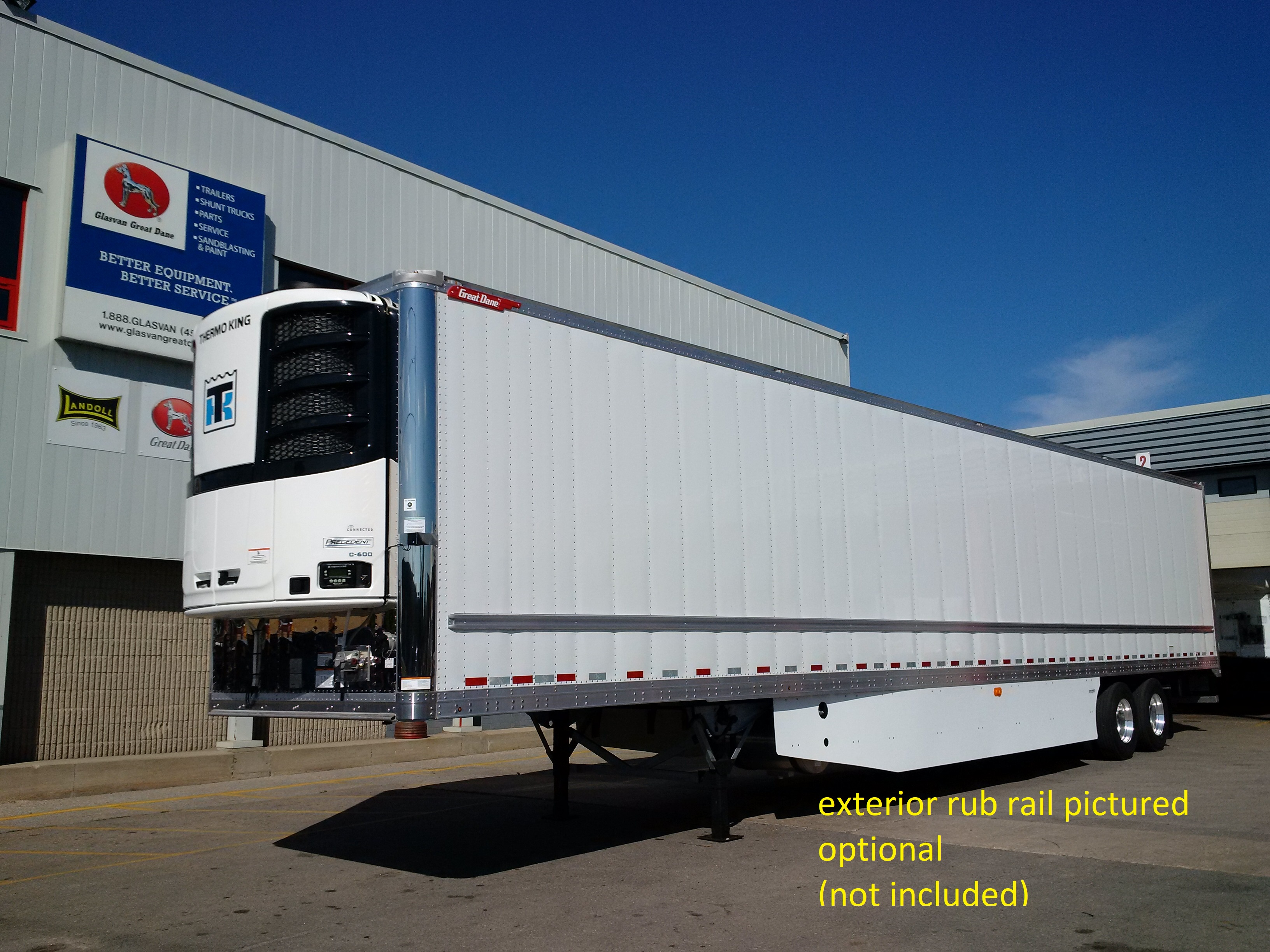 NEW GREAT DANE EVEREST EVEREST TANDEM HIGH CUBE REEFER TRAILERS