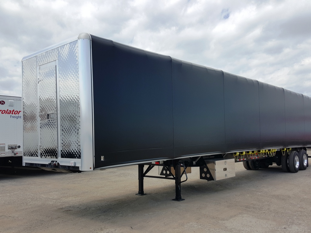 NEW GREAT DANE FREEDOM LT 53' COMBO TANDEM  FLATBED TRAILERS WITH VERDUYN EAGLE SLIDE KIT