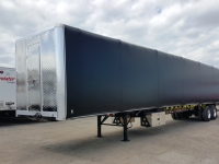 NEW GREAT DANE FREEDOM LT 53' COMBO TANDEM  FLATBED TRAILERS WITH VERDUYN EAGLE SLIDE KIT 1