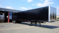 NEW GREAT DANE FREEDOM LT 53' COMBO TANDEM FLATBED TRAILERS WITH OPTIONAL VERDUYN EAGLE SLIDE KIT 7