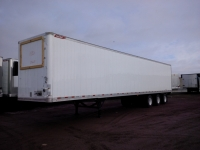 NEW GREAT DANE EVEREST TRIDEM FLAT FLOOR SWING AND ROLL UP DOOR REEFER TRAILERS 3