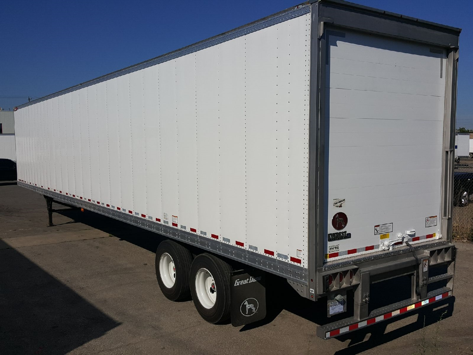 2021 GREAT DANE EVEREST TANDEM 53' ROLL UP DOOR REEFER TRAILERS