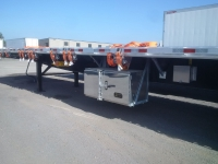 NEW GREAT DANE FREEDOM LT 53' COMBO TANDEM FLATBED TRAILERS WITH OPTIONAL VERDUYN EAGLE SLIDE KIT 3