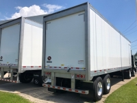 NEW 2023 GREAT DANE 42' ROLL UP REEFERS WITH SIDE DOOR AND DUAL TEMP PREP 2