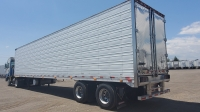 USED 2011 GREAT DANE INDEPENDENT SLIDER TANDEM AXLE REEFER TRAILER WITH THERMO KING DUAL TEMP CONTROL SYSTEM 2