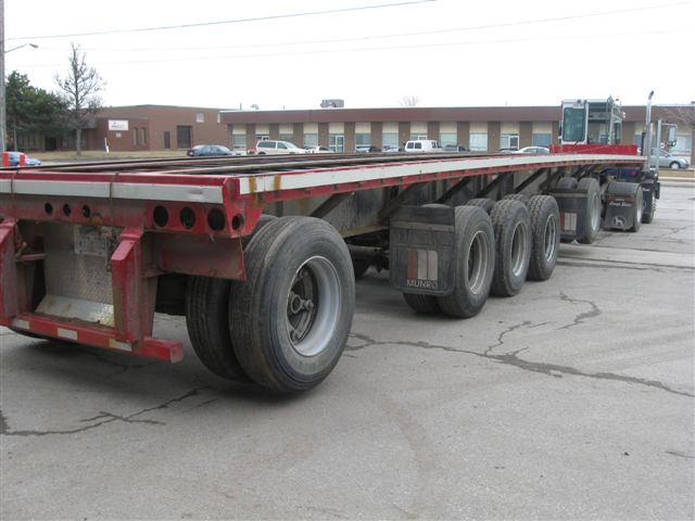 5 Axle Flat Before