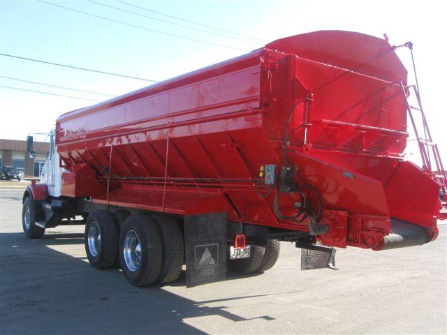 Hopper Truck After